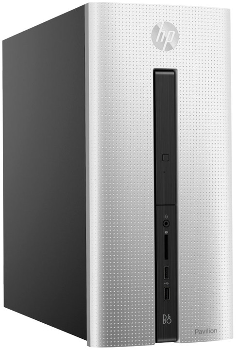 HP Pavilion 560-p050nc, stříbrná