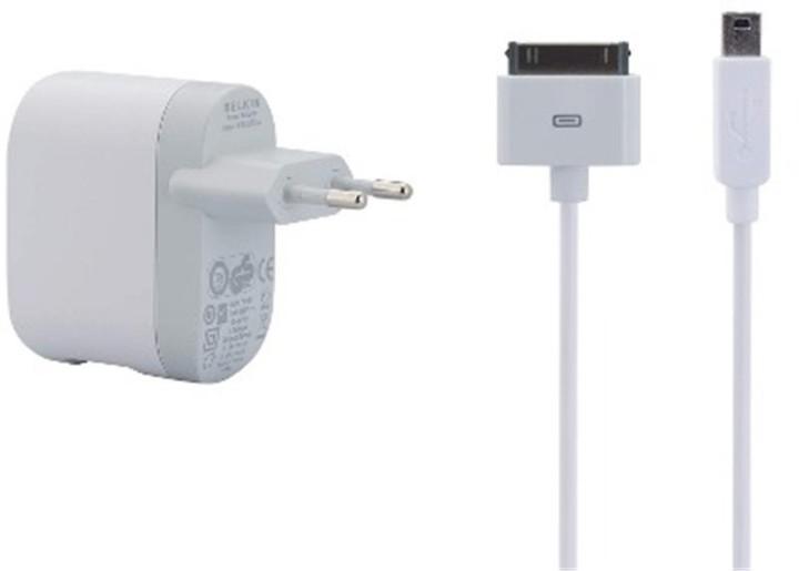 Belkin USB nabíječka + kabel pro iPhone/iPod, 1xUSB