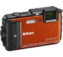 Nikon Coolpix AW130, oranžová - VNA842E1