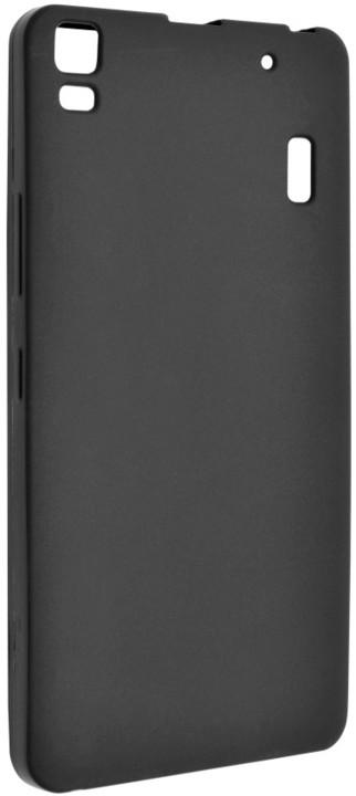 FIXED gelové pouzdro pro Lenovo A7000, černá
