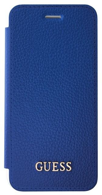 Guess IriDescent Book Pouzdro Blue pro iPhone 7