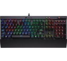 CORSAIR Gaming K70 LUX, herní, Cherry MX RGB Brown, RGB LED, černá, NA - CH-9101012-NA