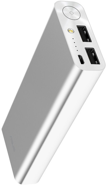 ASUS ZenPower Ultra 20100 mAh, Powerbank, stříbrná