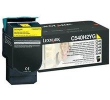 Lexmark C540A1YG, žlutá