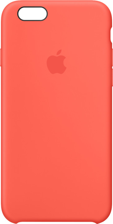 Apple iPhone 6s Silicone Case - Apricot