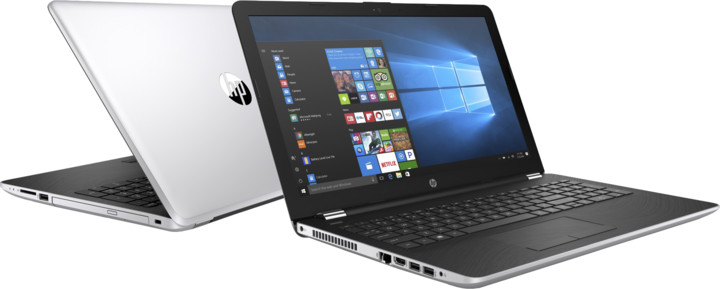 HP 15 (15-bs015nc), stříbrná
