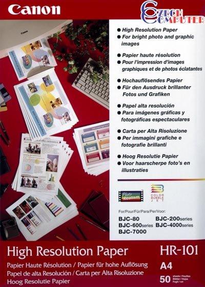 Canon Foto papír High Resolution HR-101N, A4, 200 ks, 106 g/m2