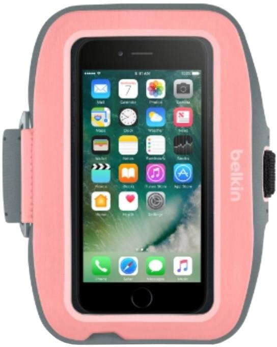 Belkin sportovní pouzdro SportFit plus pro iPhone 7plus, růžové