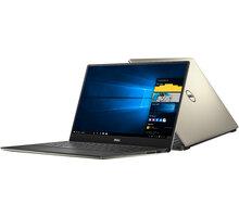 Dell XPS 13 (9350) Touch, zlatá - 9350-6182 + Myš Microsoft Arc Touch Mouse, bluetooth, šedá pouze k NB Dell