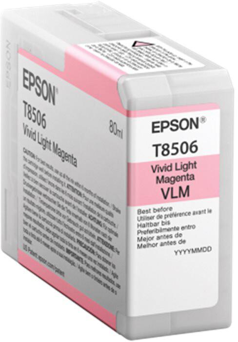 Epson T850600, (80ml), light magenta