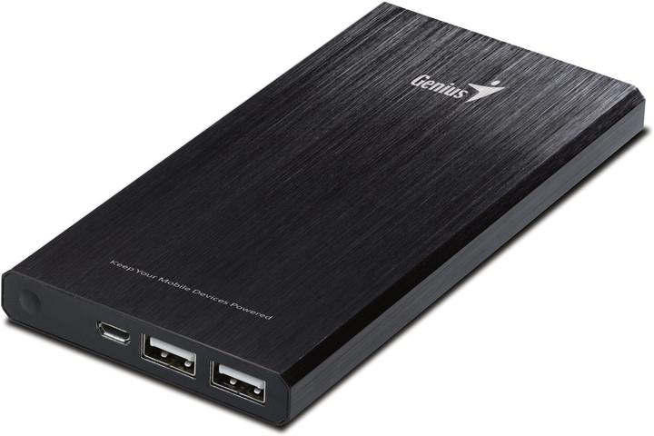 Genius powerbank ECO-u1200, černá