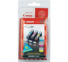 Canon CLI-521 C/M/Y Pack, barevné - 2934B007