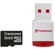 Transcend  Micro SDHC 32GB Class 10 + USB čtečka