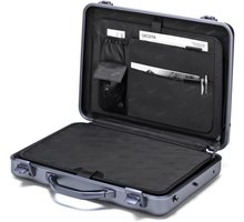 DICOTA Alu Briefcase, stříbrná - D30589