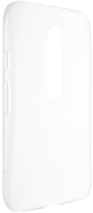 FIXED TPU gelové pouzdro pro Moto G (3.gen), bezbarvá