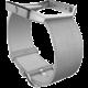 Fitbit Blaze, kožený řemínek L, šedá