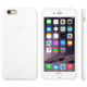 Apple Silicone Case pro iPhone 6, bílá
