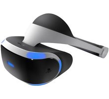 Virtuální brýle PlayStation VR + VR Worlds + Kamera + Move - PS719844051VRB2 + PlayStation VR Worlds (PS4 VR) + PlayStation 4 - Kamera v2 + PlayStation 4 - Move Controller, twin pack, černý