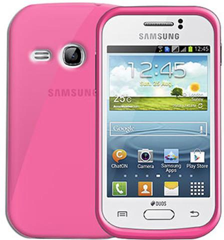 CELLY Gelskin pouzdro pro Samsung Galaxy Young, růžová