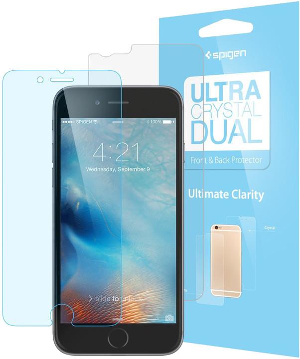 Spigen Steinheil Ultra Crystal Dual ochranná fólie pro iPhone 6/6s