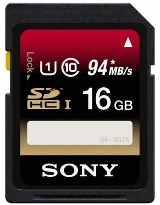Sony SDHC SF16UX 16GB Class 10