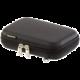 """RivaCase 9101 pouzdro na HDD 2,5"""", černé  + Zdarma Sluchátka KNG Cyclone do uší, stříbrná v ceně 319 Kč"""
