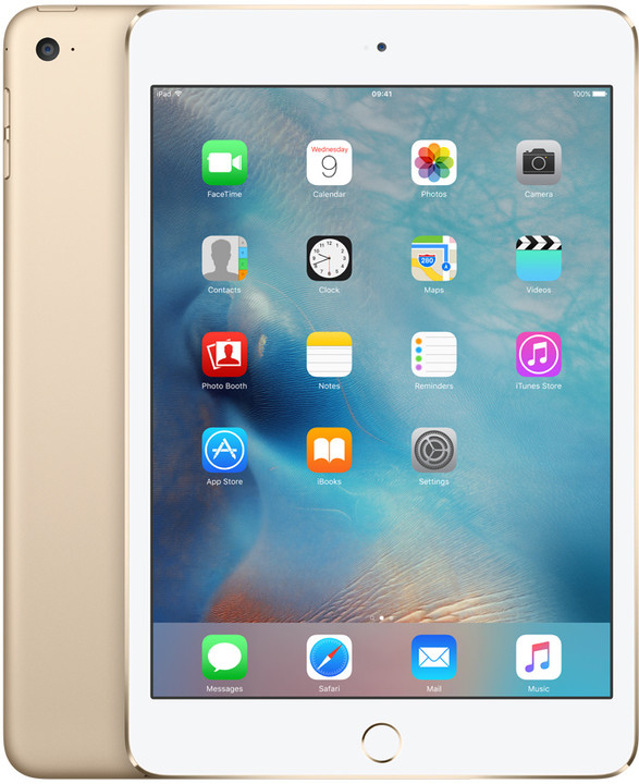 APPLE iPad Mini 4, 128GB, Wi-Fi, zlatá