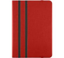 Belkin iPad Air 1/2 pouzdro Athena Twin Stripe, červená - F7N320btC04