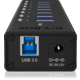 ICY BOX IB-AC618, USB 3.0 Hub, 7-Port
