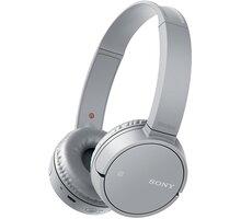 Sony MDR-ZX220BT, šedá - MDRZX220BTH.CE7
