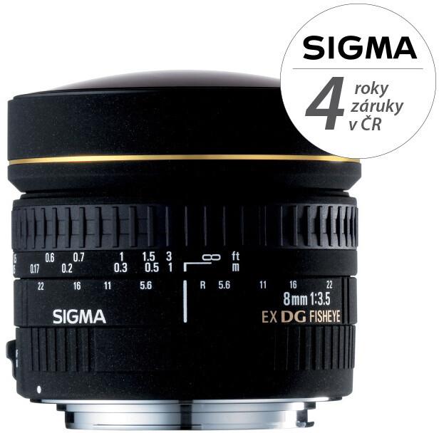 SIGMA 8/3,5 EX DG FISHEYE CIRCULAR Canon