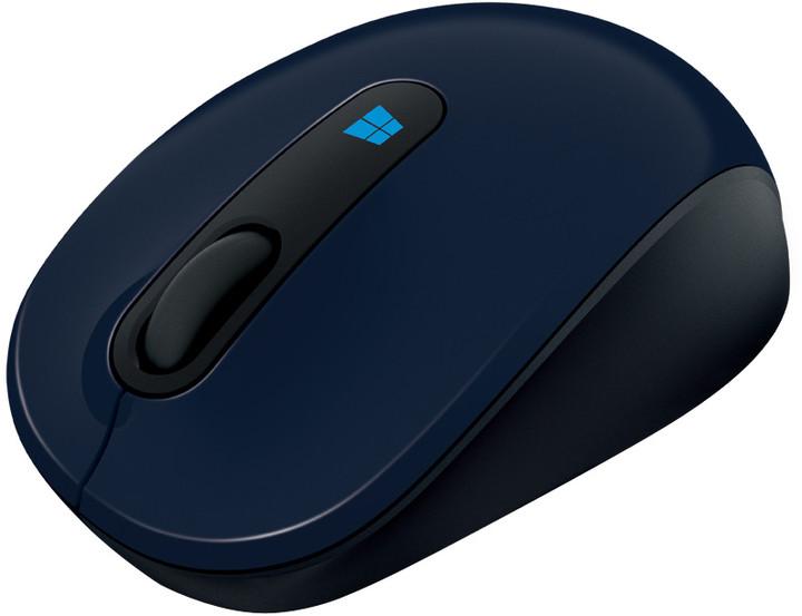 Microsoft Sculpt Mobile Mouse, modrá
