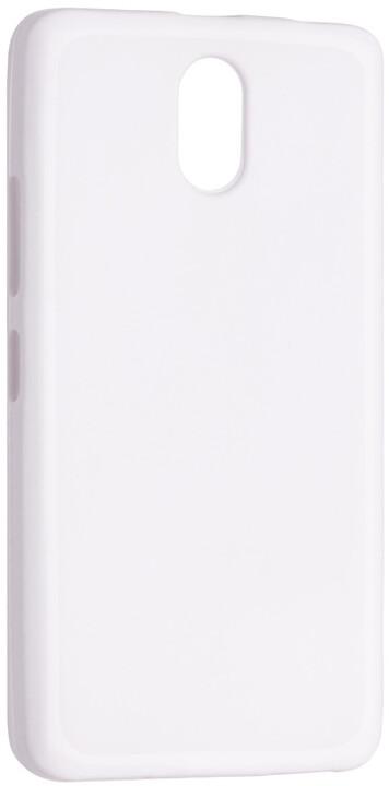 FIXED TPU gelové pouzdro pro Lenovo Vibe P1m, bílá