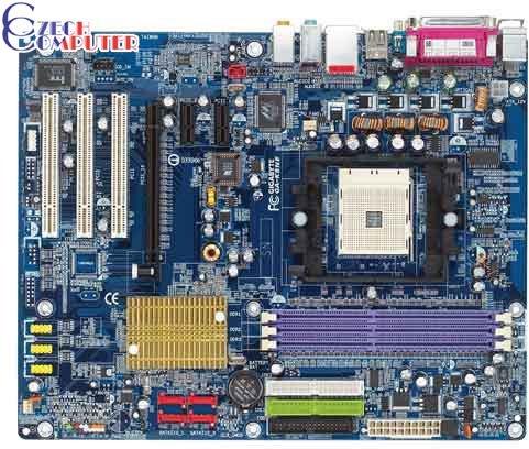 Gigabyte GA-K8NE - nVidia nForce4 4X