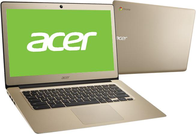 Acer Chromebook 14 (CB3-431-C3LS), zlatá