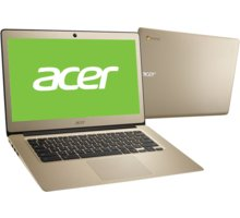 Acer Chromebook 14 (CB3-431-C3LS), zlatá - NX.GJEEC.001