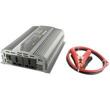 Whitenergy měnič napětí DC/AC, 24V/230V, 1000W - 06588