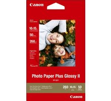 Canon Foto papír Plus Glossy II PP-201, 10x15 cm, 50 ks, 260g/m2, lesklý - 2311B003