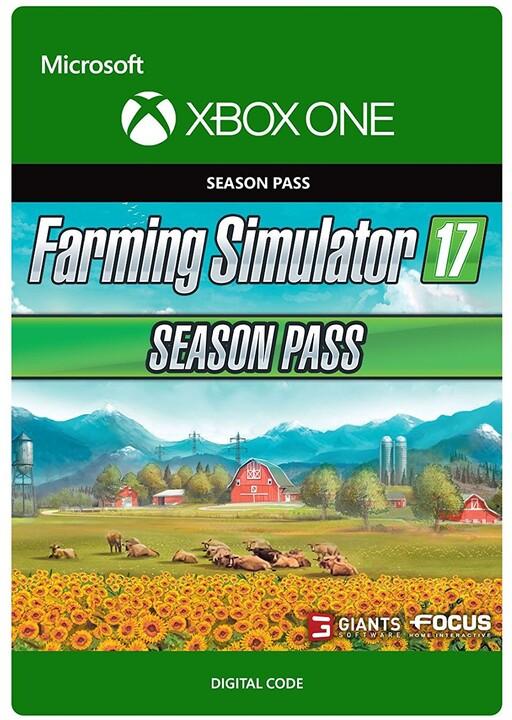 Farming Simulator 17 - Season Pass (Xbox ONE) - elektronicky
