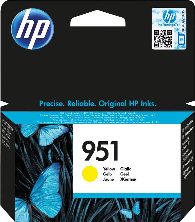 HP CN052AE, žlutá, č. 951