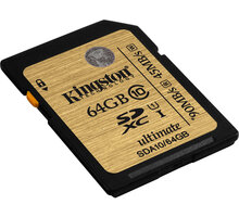 Kingston SDXC Ultimate 64GB Class 10 UHS-I - SDA10/64GB