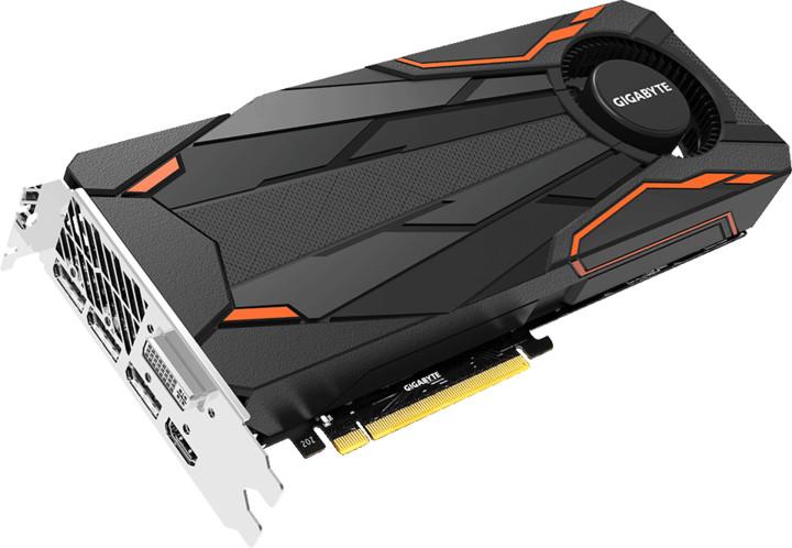 GIGABYTE GeForce GTX 1080 Turbo OC 8G, 8GB GDDR5X