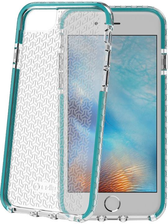 CELLY HEXAGON zadní kryt pro Apple iPhone 7, tyrkysová