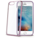 CELLY Laser - pouzdro lemování s kovovým efektem pro iPhone 7, růžovozlaté