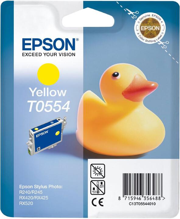 Epson C13T055440, žlutá