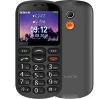 Aligator A880, černá + nabíjecí stojánek - A880BK