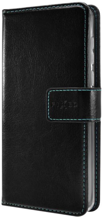 FIXED Opus pouzdro typu kniha pro Honor 6A, černé