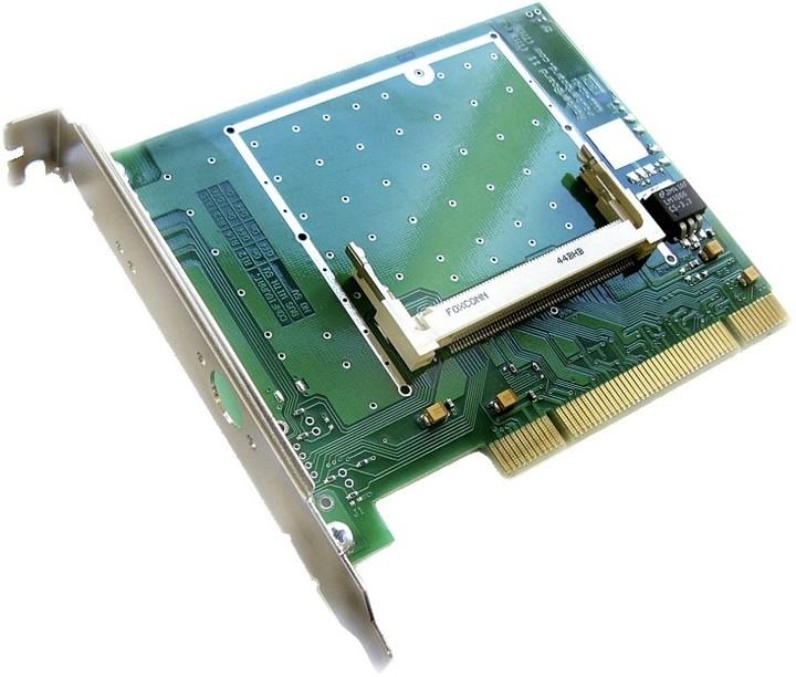 Mikrotik RouterBOARD RB11 redukce PCI- 1x miniPCI