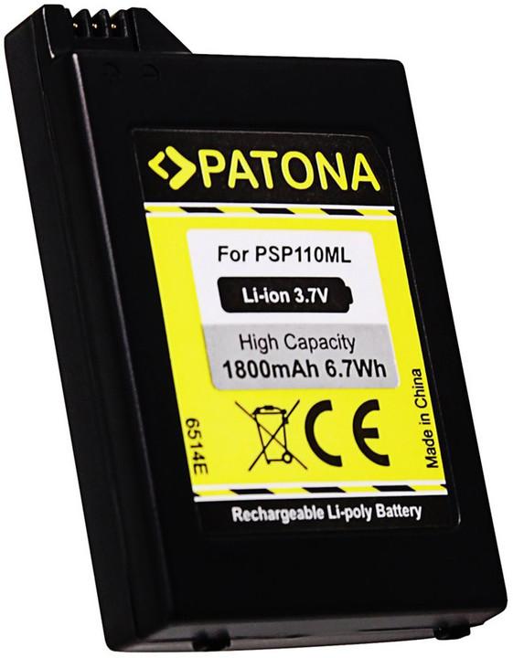 Patona baterie pro herní konzoli Sony PSP-1000 Portable 1800mAh Li-lon 3,7V