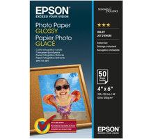 Epson Photo Paper Glossy, 10x15 cm, 50 listů, 200g/m2, lesklý - C13S042547